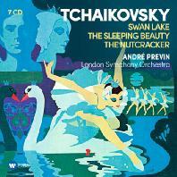 SWAN LAKE, SLEEPING BEAUTY, NUTCRACKER/ ANDRE PREVIN [차이코프스키: 백조의 호수, 잠자는 숲속의 미녀, 호두까기 인형]