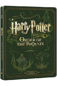 해리포터와 불사조 기사단 [BD+DVD] [스틸북 한정판] [HARRY POTTER AND THE ORDER OF PHOENIX]