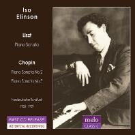 PIANO SONATAS/ ISO ELINSON [이소 에린슨: 리스트 & 쇼팽 1955, 1959 방송 녹음]