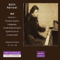 PIANO WORKS/ EDITH FARNADI [에디트 파르나디: 리스트 피아노 작품집]