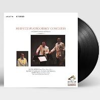 PIANO TRIO, DIVERTIMENTO FOR CELLO AND ORCHESTRA, TEMA CON VARIAZIONI/ JASCHA HEIFETZ, GREGOR PIATIGORSKY [180G LP] [하이페츠 & 피아티고르스키: 베토벤, 하이든, 로자]