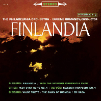 FINLANDIA, PEER GYNT SUITE & SWEDISH RHAPSODY/ EUGENE ORMANDY [SONY ORIGINALS] [시벨리우스: 핀란디아, 그리그: 페르귄트 조곡, 알펜: 스웨덴 랩소디 - 유진 오먼디]