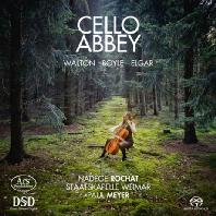 CELLO ABBEY/ NADEGE ROCHAT, PAUL MEYER [SACD HYBRID] [월튼 & 엘가: 첼로 협주곡, 이나 보일: 엘레지 - 나데주 로샤]