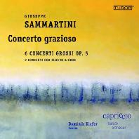 CONCERTO GRAZIOSO: CONCERTI GROSSI/ DOMINIK KIEFER [쥬세페 사마르티니: 합주 협주곡, 오보에 협주곡]