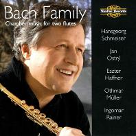 BACH FAMILY: CHAMBER MUSIC FOR TWO FLUTES/ HANSGEORG SCHMEISER [바흐 가족의 플루트를 위한 실내악 - 한스게오르그 슈마이저]