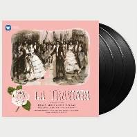 LA TRAVIATA/ MARIA CALLAS, GABRIELE SANTINI [베르디: 라트라비아타 - 마리아 칼라스 (1953 스튜디오 녹음)] [180G VINYL] [한정반]