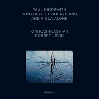 SONATAS FOR VIOLA AND PIANO/ KIM KASHKASHIAN, ROBERT LEVIN [힌데미트: 비올라 소나타집 - 킴 카쉬카쉬안]