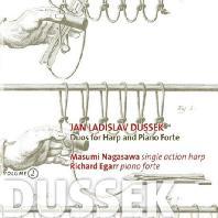 DUOS FOR HARP AND PIANO FORTE/ MASUMI NAGASAWA, RICHARD EGARR