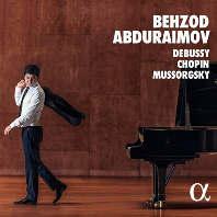 PIANO WORKS/ BEHZOD ABDURAIMOV [드뷔시: 어린이 차지, 쇼팽: 전주곡, 무소르그스키: 전람회의 그림]