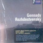 SYMPHONY NO.1,ETC/ GENNADY ROZHDESTVENSKY