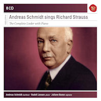 THE COMPLETE LIEDER WITH PIANO/ ANDREAS SCHMIDT [SONY MASTERS] [안드레아스 슈미트가 노래하는 슈트라우스]