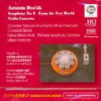 SYMPHONY NO.9 FROM THE NEW WORLD, VIOLIN CONCERTO/ CONSTANTIN SILVESTRI [HQCD] [실베스트리의 드로르작 교향곡 9번]