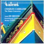 THE PIANO CONCERTOS/ ANDRE DE GROOTE [카밀레리: 피아노 협주곡]