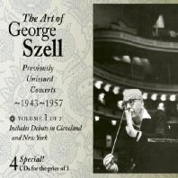 THE ART OF GEORGE SZELL VOL.2: PREVIOUSLY UNISSUED CONCERTS 1943-1957