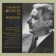 CHARLES MUNCH IN BOSTON: THE EARLY TEARS