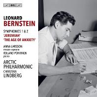 SYMPHONIES NOS 1 & 2/ ANNA LARSSON, CHRISTIAN LINDBERG [SACD HYBRID] [번스타인: 교향곡 1번<예레미야> & 2번<불안의 시대> | 크리스티안 린드베리]