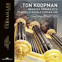 GRANDES ORGUES 1710: CHAPELLE ROYALE VERSAILLES/ TON KOOPMAN [톤 쿠프만이 연주하는 베르사유 그랜드 오르간]
