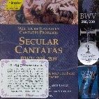 SECULAR CANTATAS BWV 208,209/ HELMUTH RILLING