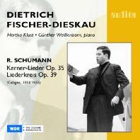 KERNER-LIEDER OP.35 % LIEDERKREIS OP.39/ FISCHER-DIESKAU/ KLUST/ WEIBENBORN