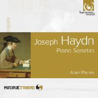 PIANO SONATAS/ ALAIN PLANES [하이든: 피아노 소나타]