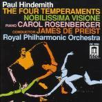 THE FOUR TEMPERAMENTS/ CAROL ROSENBERGER/ JAMES DE PREIST