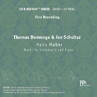 WORKS FOR CELLO AND PIANO/ THOMAS DEMENGA, JAN SCHULTSZ [CD+BDA] [한스 후버: 첼로 모음곡, 첼로 소나타 외]