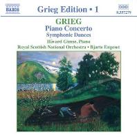 PIANO CONCERTO/ HAVARD GIMSE, BJARTE ENGESET [그리그: 피아노 협주곡]
