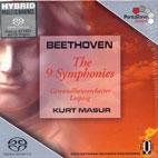 THE 9 SYMPHONIES/ KURT MASUR [SACD HYBRID] [베토벤: 교향곡 전집]
