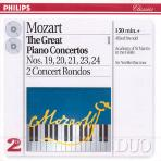 THE GREAT PIANO CONCERTOS VOL.1/ ALFRED BRENDEL/ NEVILLE MARRINER