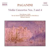 VIOLIN CONCERTOS NOS.3 & 4/ ERNO ROZSA, MICHAEL DITTRICH [파가니니: 바이올린 협주곡 3, 4번 - 에르노 로자]
