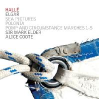 SEA PICTURES & POMP AND CIRCUMSTANCE MARCHES 1-5/ MARK ELDER, ALICE COOTE [엘가: 바다의 풍경 & 위풍당당 행진곡]