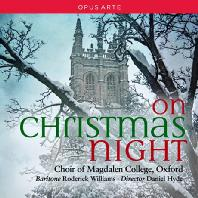 ON CHRISTMAS NIGHT/ RODERICK WILLIAMS, DANIEL HYDE [옥스퍼드 맥덜린 대학 합창단: 크리스마스 나이트]