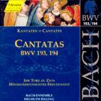 CANTATAS BWV.193, 194/ HELMUTH RILLING