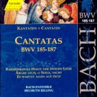 CANTATAS BWV.185 - 187/ HELMUTH RILLING