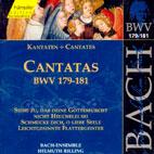 CANTATAS BWV.179 - 181/ HELMUTH RILLING