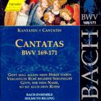 CANTATAS BWV. 169 - 171/ ARLEEN   AUGER