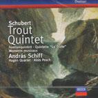 TROUT QUINTET/ MOMENTS MUSICAUX/ ANDRAS SCHIFF/ HAGEN QUARTET