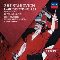 PIANO CONCERTOS NOS.1 & 2/ PETER JABLONSKI, VLADIMIR ASHKENAZY [VIRTUOSO]