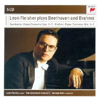 PIANO CONCERTOS NOS.1-5/ LEON FLEISHER, GEORGE SZELL [MASTERS]