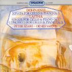 SONATAS FOR CELLO & PIANO/ PETER SZABO/ DENES VARJON