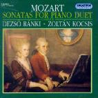 SONATAS FOR PIANO DUET/ DEZSO RANKI/ ZOLTAN KOCSIS