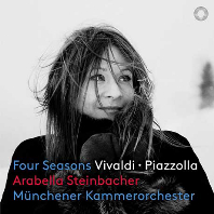 FOUR SEASONS/ ARABELLA STEINBACHER [SACD HYBRID] [비발디 & 피아졸라: 사계 - 아라벨라 슈타인바허]