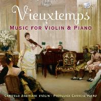 MUSIC FOR VIOLIN & PIANO/ CARMELO ANDRIANI, PIERLUIGI CAMICIA [비외탕: 바이올린과 피아노를 위한 음악 - 카르멜로 안드리아니]