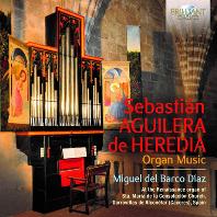 ORGAN MUSIC/ MIGUEL DEL BARCO DIAZ [아길레라 데 에레디아: 오르간 작품집 - 미겔 델 바르코 디아스]