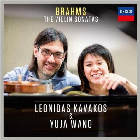 BRAHMS: THE VIOLIN SONATAS [브람스: 바이올린 소나타 - 레오니다스 카바코스 & 유자 왕]