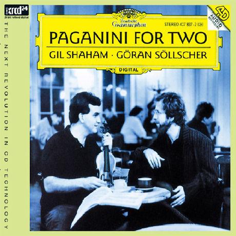 PAGANINI FOR TWO/ GIL SHAHAM, GORAN SOLLSCHER [XRCD] [파가니니: 바이올린과 기타를 위한 작품집 - 길 샤함 & 외란 쇨셔]