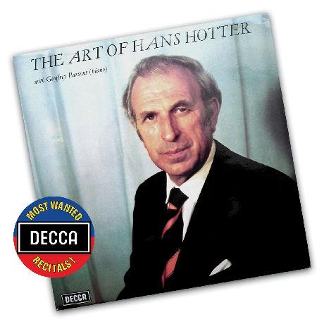 THE ART OF HANS HOTTER [DECCA MOST WANTED RECITALS]