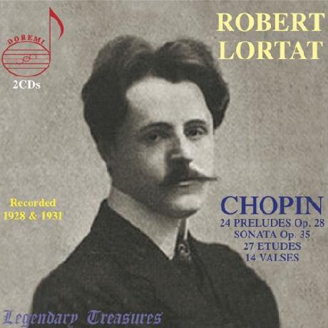 24 PRELUDES OP.28/ ROBERT LORTAT