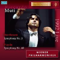 SYMPHONY NO.3 & NO.48/ RICCARDO MUTI [베토벤: 교향곡 3번 & 하이든: 교향곡 48번]