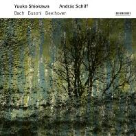VIOLIN SONATAS/ YUUKO SHIOKAWA, ANDRAS SCHIFF [안드라스 쉬프 & 유코 시오카와:  바흐 부조니, 베토벤 바이올린 소나타]